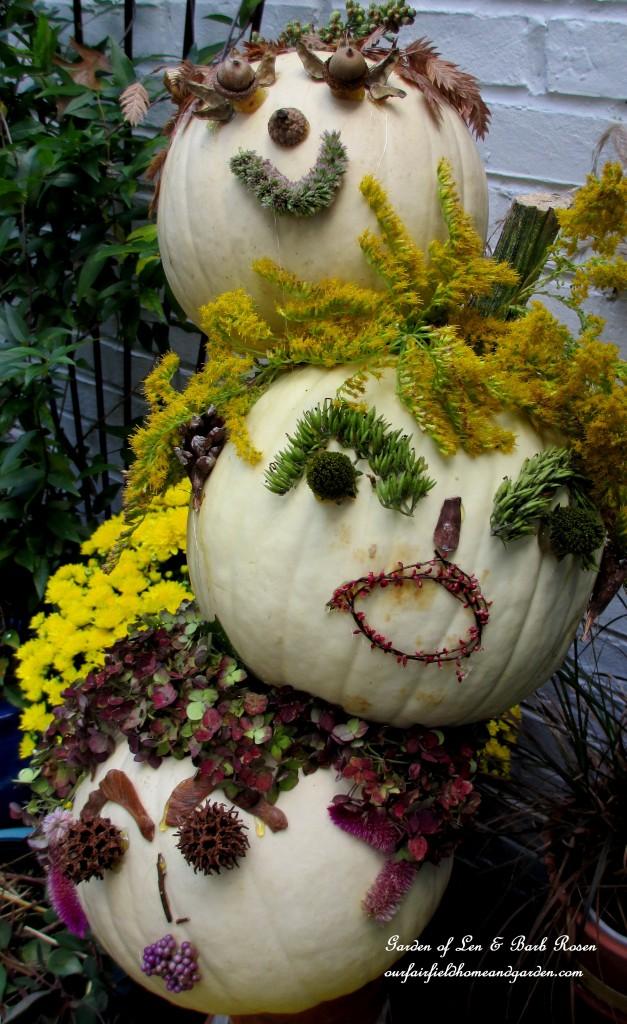 Tipsy Pumpkin heads
