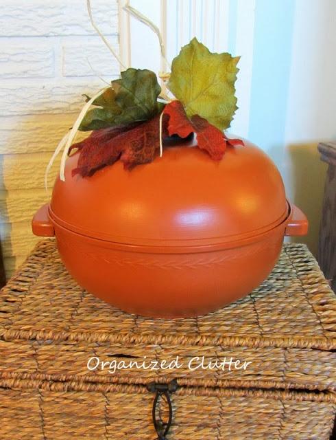 Bun warmer pumpkin