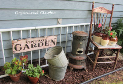 Country props from Organized clutter in a residential setting.
