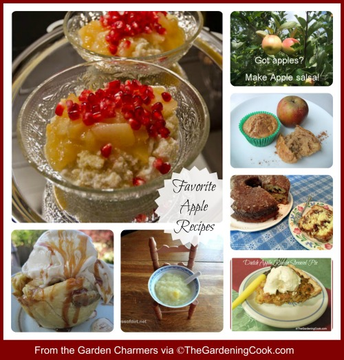 Favorite apple recipes from the Garden Charmers on Facebook.