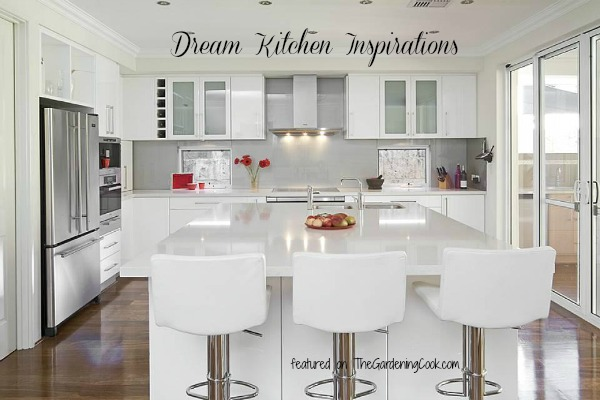Round up of dream kitchens to inspire you.