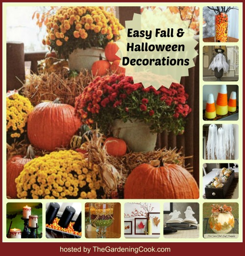 12 Easy Fall & Halloween Decor Projects