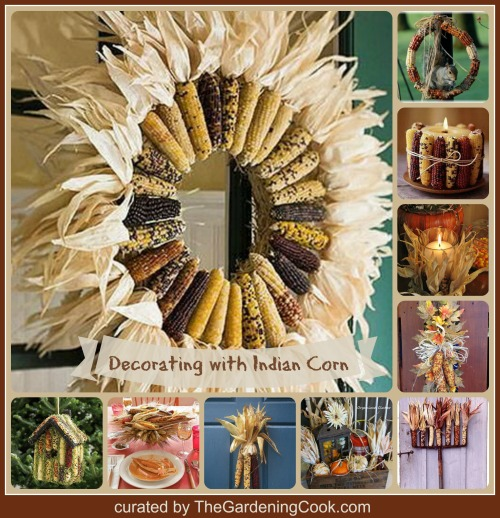 wreath decorating ideas pictures - Indian Corn Decorations Decorating with Indian Corn for