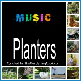 Great selection of Creative Musical planters