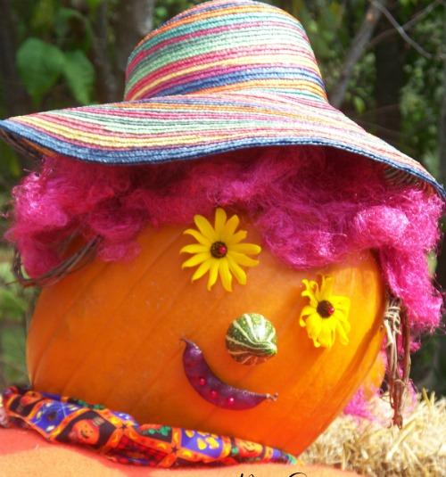 No carve pumpkins with natural ingredients.