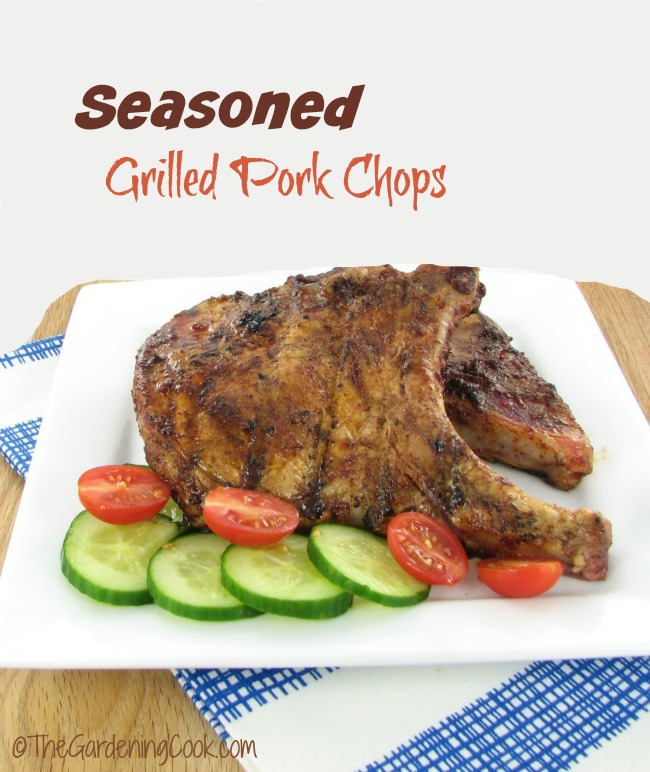 Seasoned Grilled Pork Chops