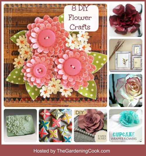 Round up of 8 incredible Flower craft projects