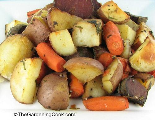 Slimmed Down Roast Veggies