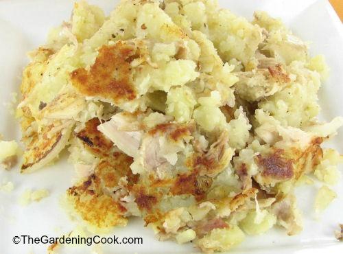 My favorite turkey and potato hash.