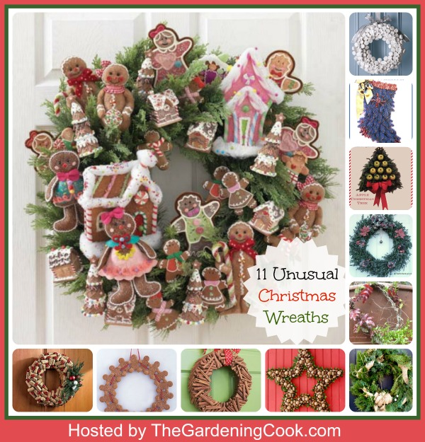 11 Unusual Christmas Wreaths