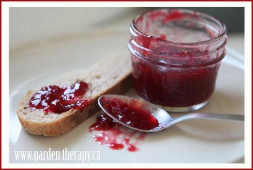 Blood orange and raspberry jam.