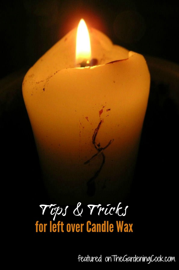 Tips and Tricks for using left over candle wax