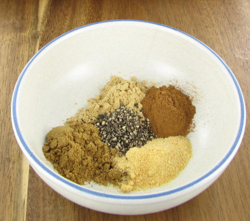 spice mix for chicken tagine