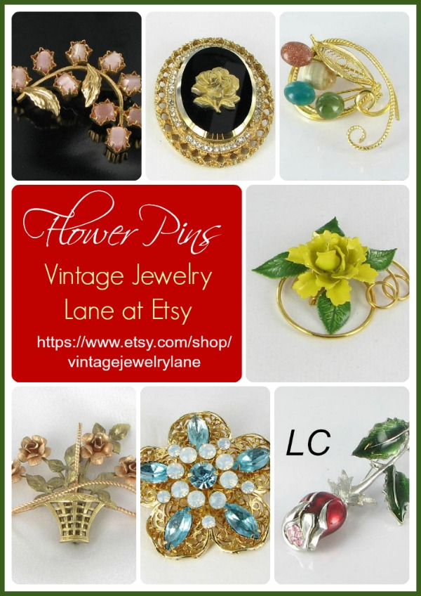 Flower Jewelry for the lover of gardening jewelry
