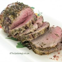 Garlic Lovers Roast Beef