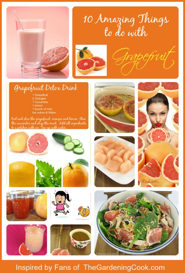 10 Amazing things to do with Grapefruit