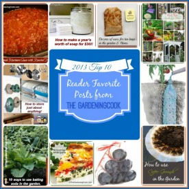 Top 10 Posts for 2013 from The Gardening Cook