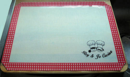 Silcone baking mat