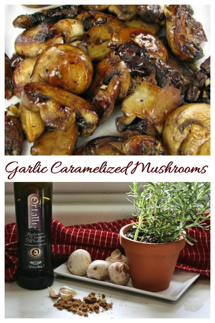 This recipe for garlic caramelized mushrooms takes the earthy taste of mushrooms to a whole new level.