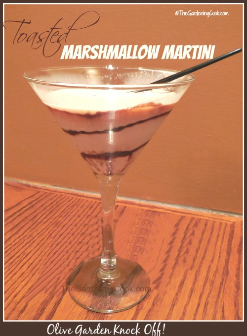 Toasted Marshmallow martini Olive Garden Knock off