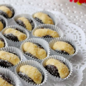 Olho de Sogra - Brazilian sweet with prunes and coconut