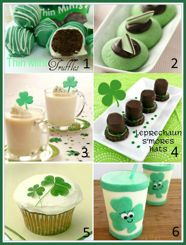 These St. Patrick's Day Recipes will add a touch of the Irish to you party table.