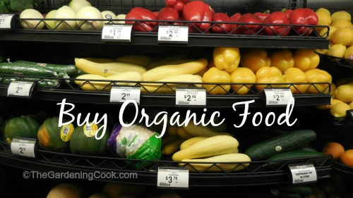 buy Organic food for Earth Day #EarthDayProjects