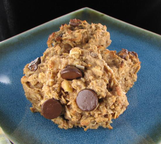 Healthy Peanut butter oatmeal cookie