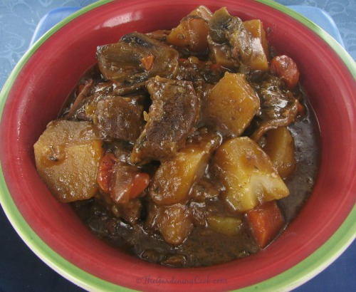 Crockpot Beef Stew @crockpotrecipes #slowcookerrecipes