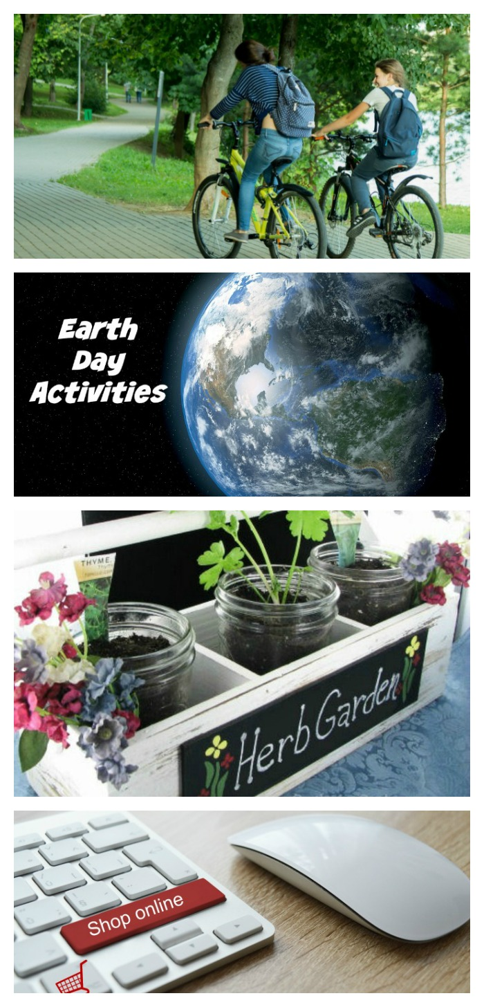 Earth day is April 22. Celebrate the day with one of these Earth Day Activities