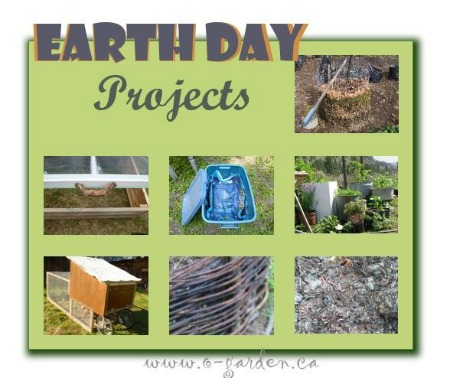 Earth Day projects from drought-smart-plants.com #EarthDayProjects