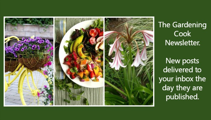 The Gardening Cook Newsletter