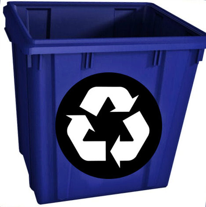 Use the recycle bin for earth day and every day