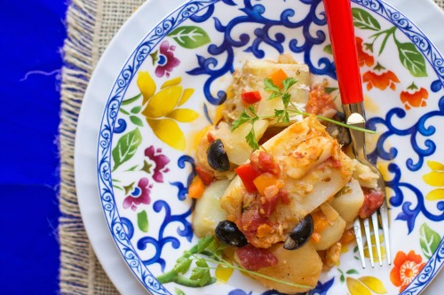 Salted Codfish Casserole.  Today's featured recipe from mollymell.blogspot.comcom
