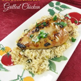 This is one of the most delicious dinners I have made in a long time. Find out how to make this Hawaiian Grilled Chicken with soy and coconut milk. https://thegardeningcook.com/hawaiian-chicken-with-coconut-milk/