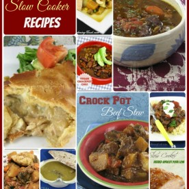 Why slave over the stove at dinner time? Try one of these delicious slow cooker recipes. Prepare in the morning and serve at night! See them all at https://thegardeningcook.com/easy-slow-cooker-recipes/