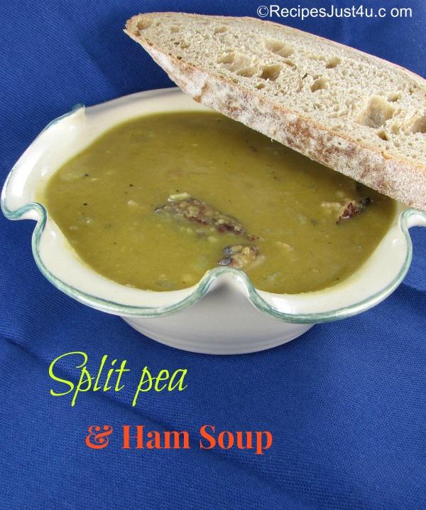 Split Pea and Ham Soup from recipesjust4u.com