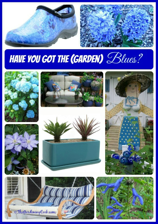 Blue is such a calming color. See lots of creative ways to put it to use in your garden. thegardeningcook.com