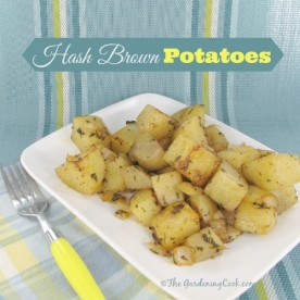 These hash brown potatoes are perfect for Sunday Brunch