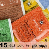15 ingenious uses for tea bags in the home and garden