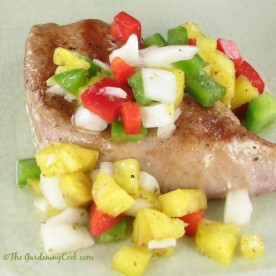grilled yellow fin tuna