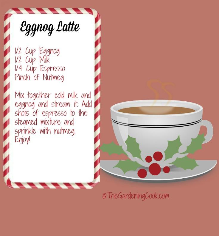 4 ingredient eggnog latte