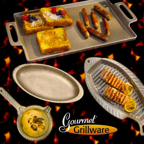 $220 worth of Gourmet Grillware products up for grabs in a giveaway.