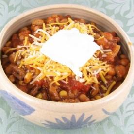 Slow Cooker White Bean chili