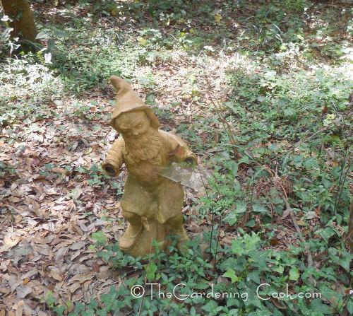 Wood Gnome Statue