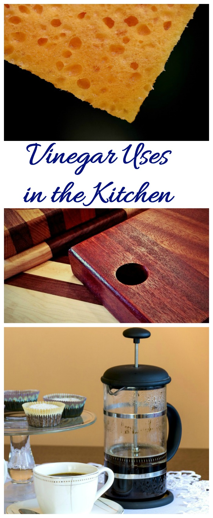 The kitchen is a great place to use vinegar