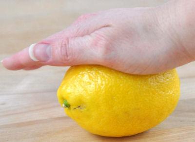 roll a lemon