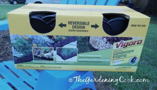 Vigaro reversible edging