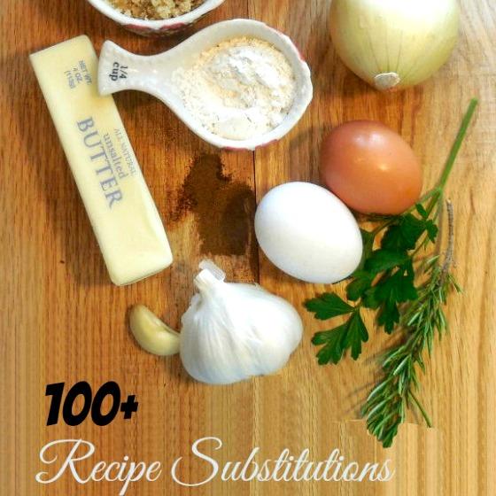 1-1+ recipe substitutes.