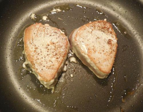 cook the tuna